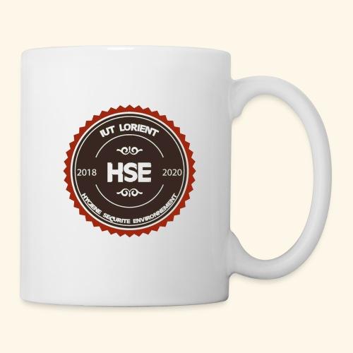 Logo HSE - couleur - Mug blanc