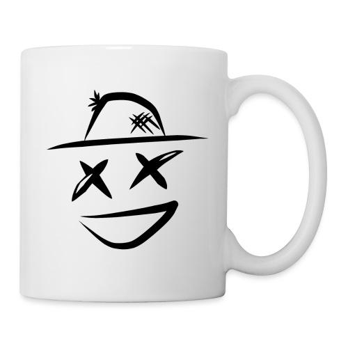logo noir - Mug blanc