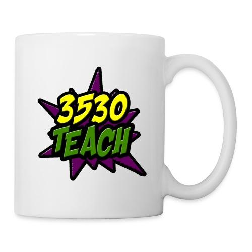 logo 3530teach - Mug blanc