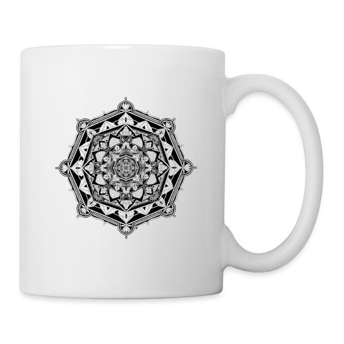 Mandala Asia - Mug blanc