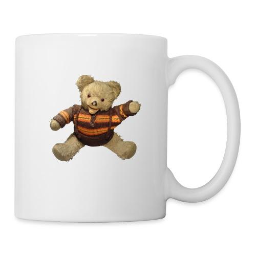 Teddybär - orange braun - Retro Vintage - Bär - Tasse