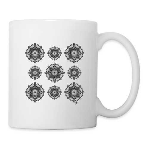 Mandala Wall - Mug blanc