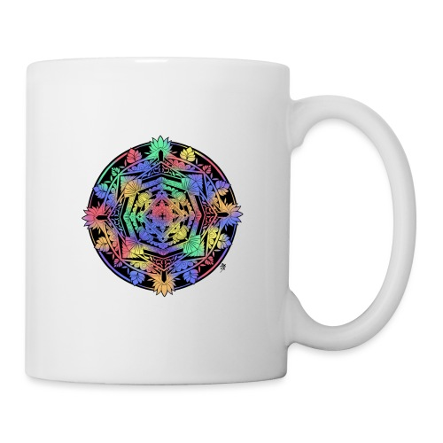 Mandala Colorful - Mug blanc