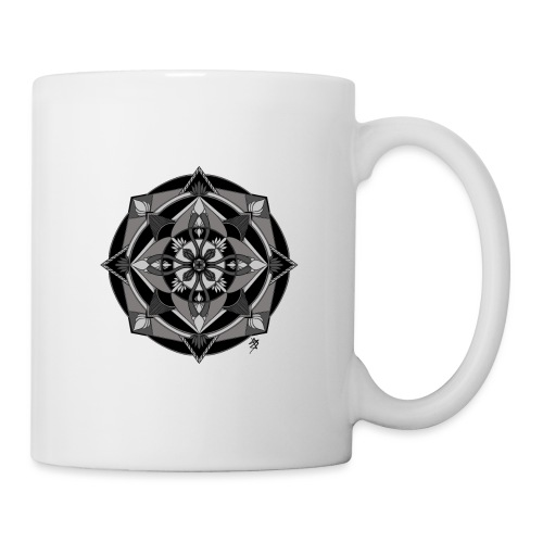 Mandala Mosaïque - Mug blanc