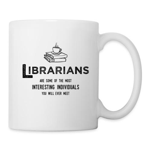 0335 Librarian Cool story Funny Funny - Mug