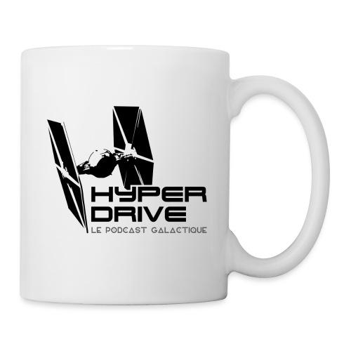 Hyperdrive - logo galactique - Mug blanc