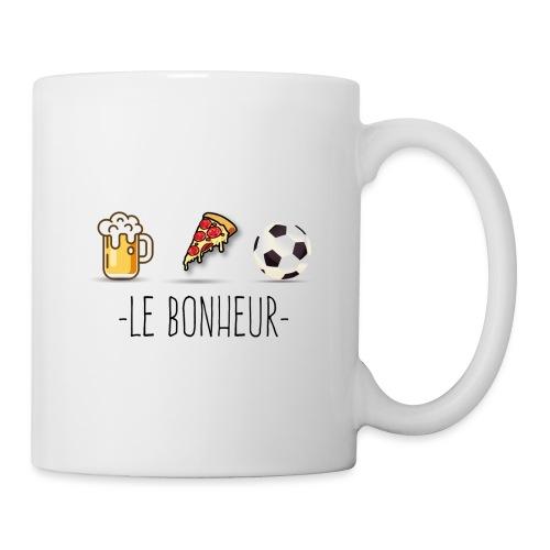 bonheur foot - Mug blanc