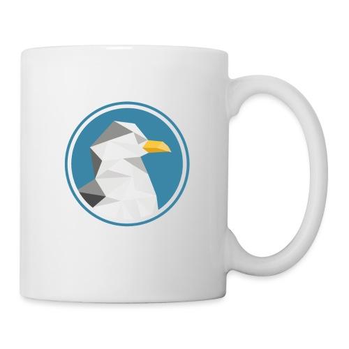 Möwe Silhouette Meer Tier Geschenk - Tasse