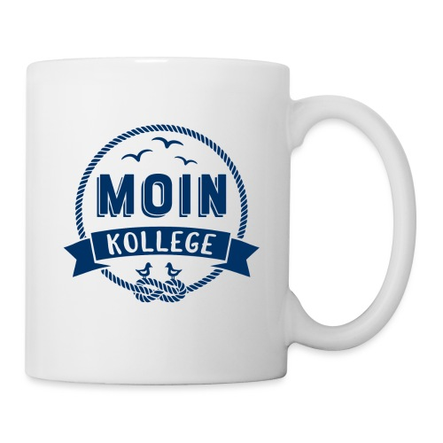Moin Kollege maritimer Spruch - Tasse