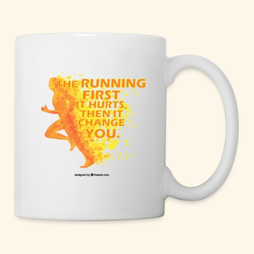 Motivo _ The Running First it Hurts - Tazza