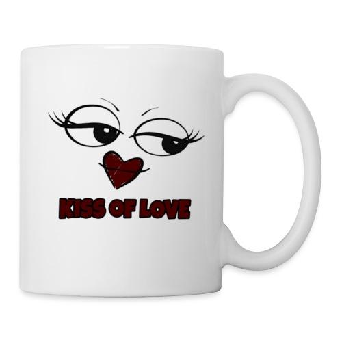 Kiss of Love - Mug blanc