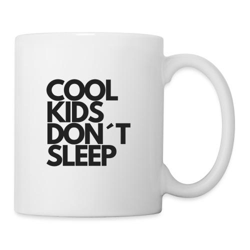 Cool Kids don't sleep Kinderbekleidung - Tasse