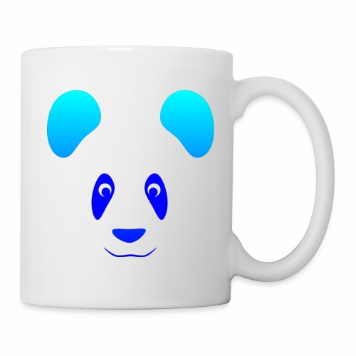 Happy Panda - Blue - Mug