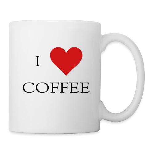 i love coffee Design - Tasse