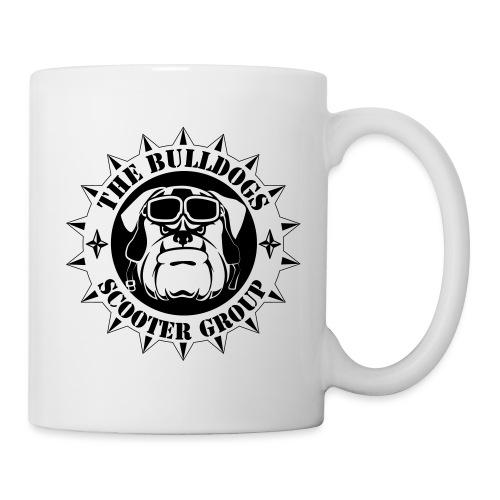 Bulldogs Scooter Group Logo-Black - Mug blanc