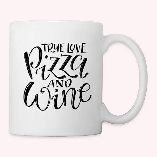Wahre Liebe - Pizza & Wine - Tasse