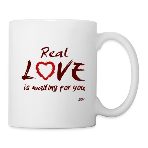 Real love is waiting for you - Mug blanc