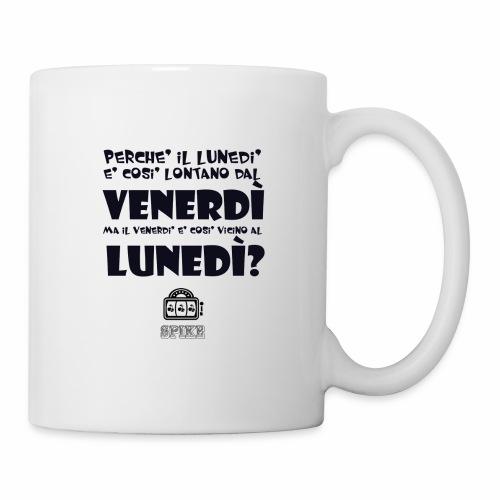 SPIKE-lunedi-venerdi-nero - Tazza