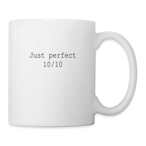 Just perfect black einseitig - Tasse