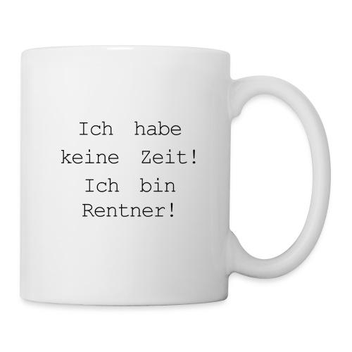 Rentner - Tasse