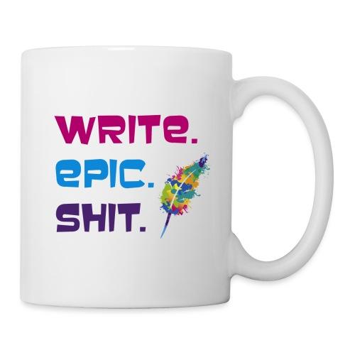 Write.Epic.Shit by www.Schreiben-im-Flow.de - Tasse