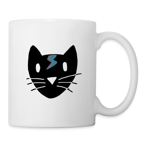 Chat Bowie - Mug blanc