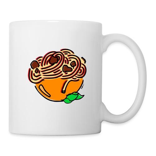 Schüssel Spaghetti - Tasse