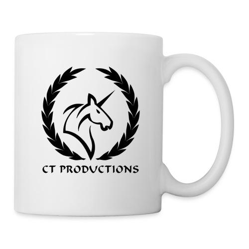 CT Logo Schwarz - Tasse