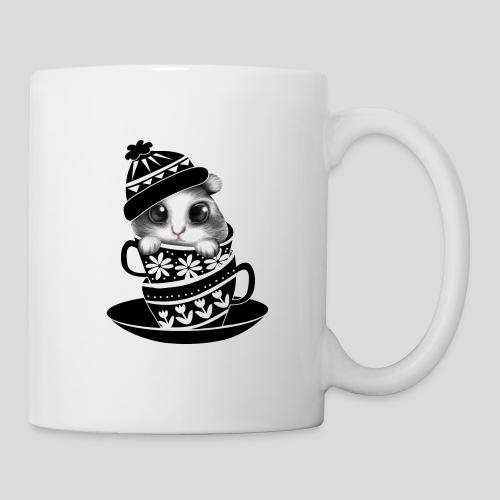 Schwarze Tiere - Tasse