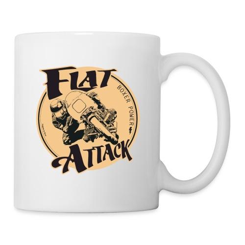 N 179 FLAT ATTACK 2 - Mug blanc