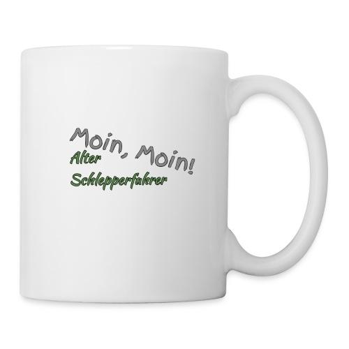 Moin, Moin! Alter Schlepperfahrer - Tasse