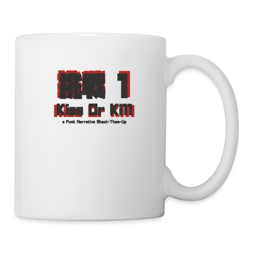 Gaijin Charenji 1 : Kiss or Kill - Mug blanc