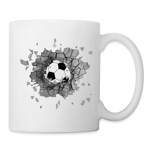 Football durch wand - Tasse