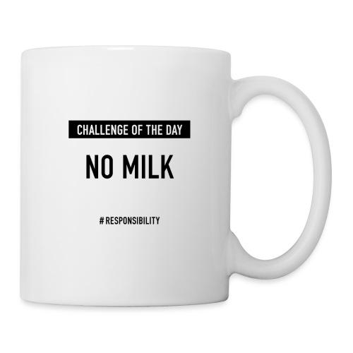 No Milk-Challenge: Für einen guten Arbeitstag - Tasse