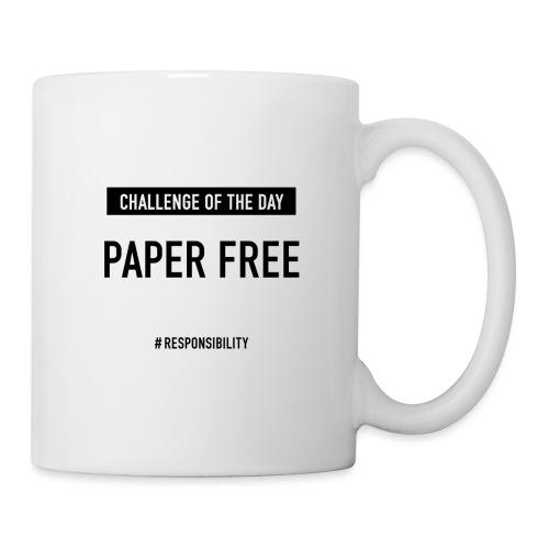 Paper free-Challenge: Für einen guten Arbeitstag - Tasse