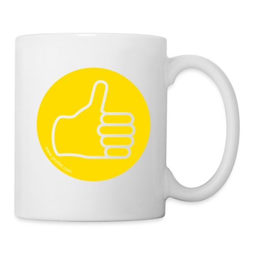Main Influent DISC - Mug blanc