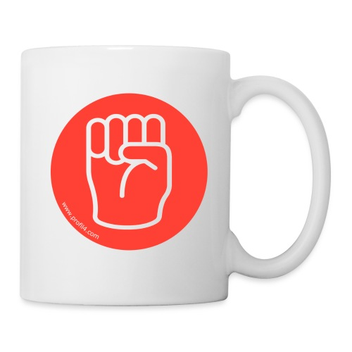 Main Dominant DISC - Mug blanc