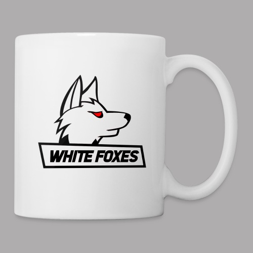 logo white foxes - Mug blanc