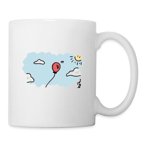 Ballon Amoureux - Mug blanc