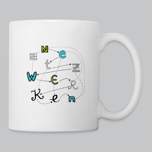 Netzwerken - Tasse