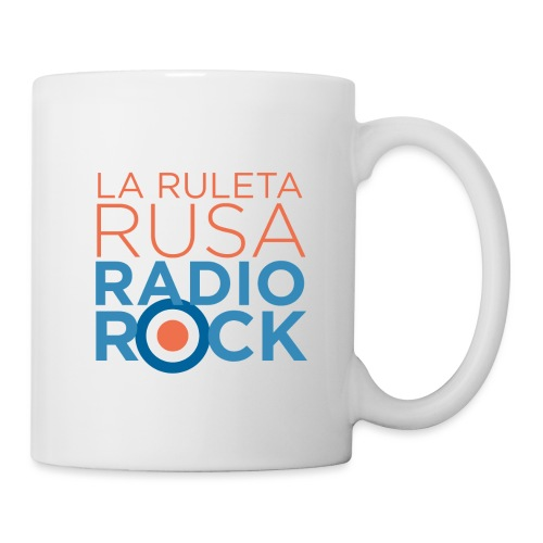 La Ruleta Rusa Radio Rock. Portrait Primary. - Taza