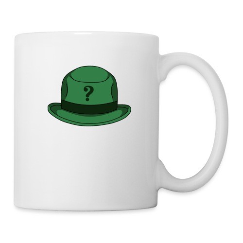 Grüner Rätsel Hut Riddler - Tasse