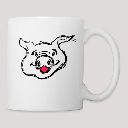 PIGGY Black - Mug