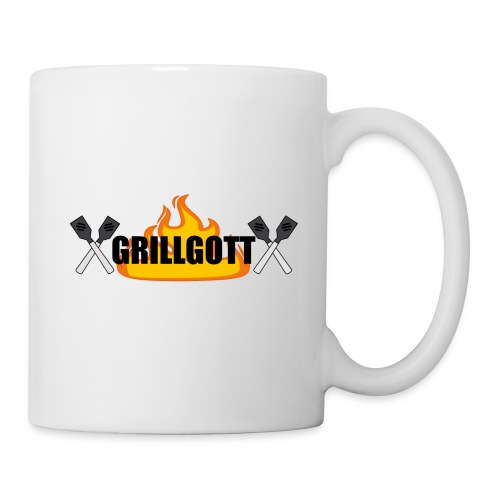 Grillgott Meister des Grillens - Tasse
