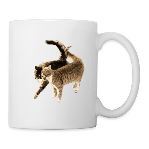 happy cats retro look - Mug
