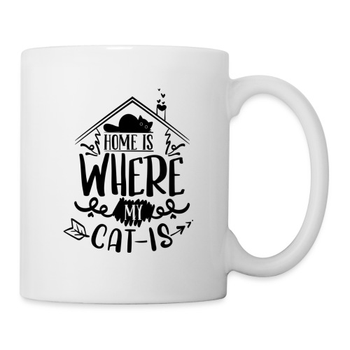Tasse Home is where my cat is - Tasse