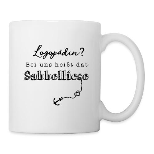 Bei uns heißt dat Sabbelliese - Tasse