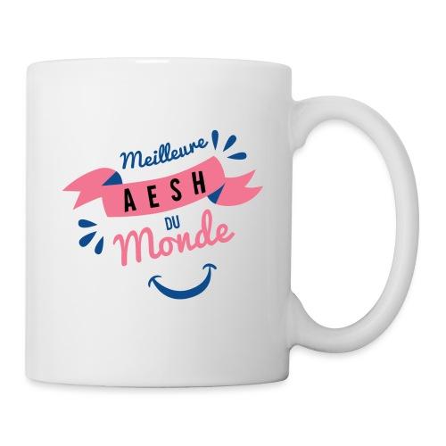 Meilleure AESH du Monde - Mug blanc