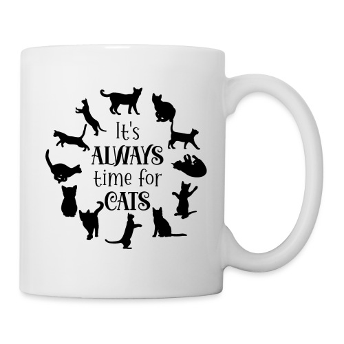 Its always time for cats - Mugg