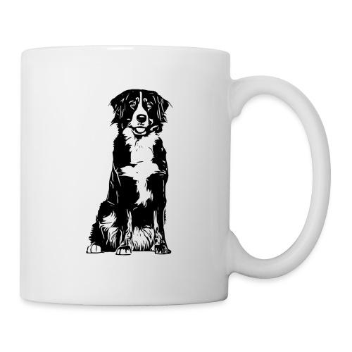 Berner Sennenhund Hunde Design Geschenkidee - Tasse